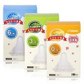 日本 KIDS & MAMA 寬口奶瓶嘴 2入 S/M/L【新高橋藥妝】3款可選