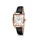 【Folli Follie】Retro Square雅典女神羅馬時尚腕錶-經典黑/WF16R012SPS_BK/台灣總代理公司貨享兩年保固