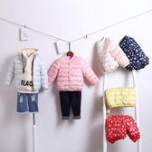 兒童棉服內膽輕薄款短保暖季冬秋裝童女童男寶寶棉衣外套糖果