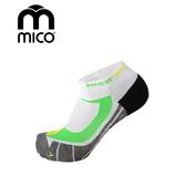 MICO 銀纖維越野慢跑襪1607 / 城市綠洲(義大利、萊卡、CORDURA、銀纖維、襪子、COOLMAX)