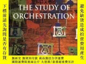 二手書博民逛書店【罕見】The Study Of Orchestration 2