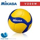 MIKASA 超纖皮製比賽級排球 國際排總比賽指定球 室內 / 室外球 黃藍色 5號 MKV200W 原價3600元