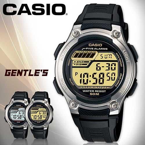 CASIO手錶專賣店 卡西歐 W-212H-9A 男錶 電子錶 LED背光 顆粒輪胎紋路 膠質錶帶