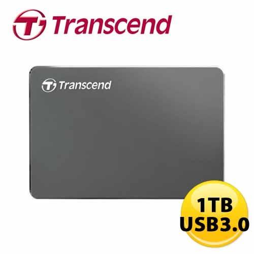 ★鋁合金輕薄★ 創見 StoreJet 25C3 1TB USB3.0 2.5吋 外接硬碟