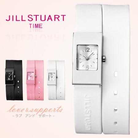 JILL STUART多層次女孩腕錶 秀氣方形鏡面 限量日本空運 柒彩年代【NE1014】原廠公司貨