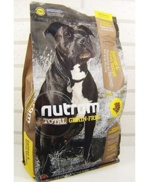*~寵物FUN城市~*紐頓nutram-T25無穀潔牙成幼犬 鮭魚+鱒魚狗飼料【2.72kg】全齡犬適用 狗糧
