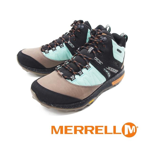 MERRELL(男) ZION MID WATERPROOF X UNLIKELY HIKERS 高筒郊山健行鞋 -彩黑