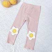 立體小花朵造型長褲 童裝 褲子