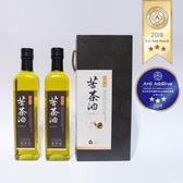 【幸樸作油】秋林一號苦茶油500ml雙瓶禮盒
