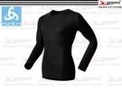 【速捷戶外】瑞士ODLO 152022 機能銀纖維長效保暖底層衣(黑) 男