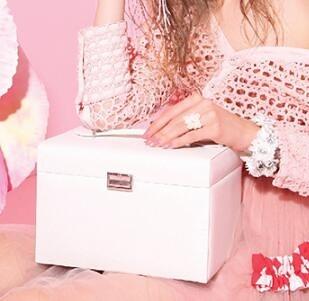首飾盒 唯蘭朵首飾盒小精致手飾品戒指耳環項鏈大容量收納盒歐式高檔奢華【快速出貨八折優惠】