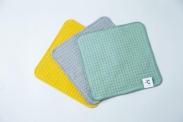 【100percent】Minus Degree Bio 鬆餅布涼感手巾