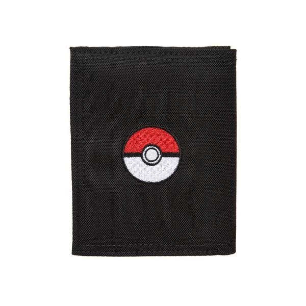 【橘子包包館】OUTDOOR Pokemon 聯名款 訓練家系列 對折短夾 黑色 短夾 ODGO20C09BK