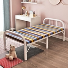 折疊床 單人午休辦公室午睡簡易便攜家用陪護租房成人雙人木板鐵床-完美