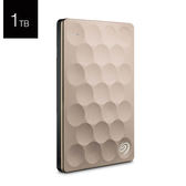 Seagate 希捷 Backup Plus Ultra Slim 1T B STEH1000300 香檳金色 2.5吋 行動硬碟
