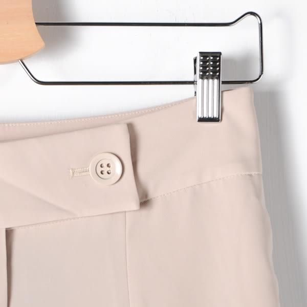 【MASTINA】寬版雙鈕扣腰帶西裝褲-卡 精選單一價