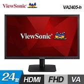 【ViewSonic 優派】VA2405-h 24型 VA 寬螢幕顯示器