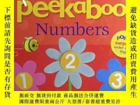 二手書博民逛書店【Pop罕見Up】Peekaboo! Numbers躲貓貓識數字