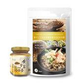【樸優樂活】穀中之王黃金苦蕎麥養生QQ波浪麵(200克)+蕎麥胡麻醬-養生好味組
