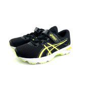 ASICS 亞瑟士 透氣吸震慢跑鞋 運動鞋 《7+1童鞋》5147 黑色