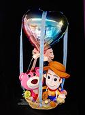 12吋胡迪x熊抱哥幸福熱氣球,金莎花束/情人節禮物/婚禮佈置/派對慶生,節慶王【Y572797】