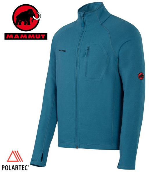 丹大戶外【MAMMUT】瑞士長毛象 Aconcagua Jacket Men 男款抗磨快乾保暖外套 1010-04571-5641 藍