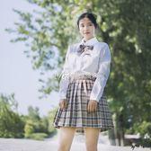 日繫jk制服少女校服套裝學院風韓國中學生短袖襯衫班服水手服  瑪奇哈朵