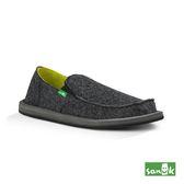 SANUK  復古帆布懶人鞋-男款1015961 BLK(黑色)