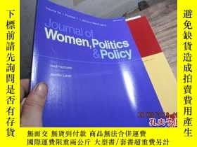 二手書博民逛書店jouanal罕見of women,politics polic
