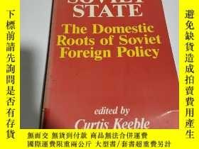 二手書博民逛書店THE罕見SOVIET STATE:the domestic r
