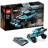 樂高積木樂高機械組42059特技卡車LEGOTechnic積木玩具xw