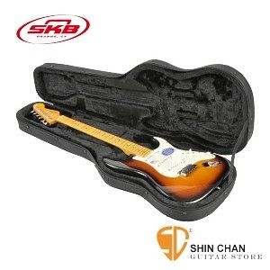 電吉他專用輕體硬盒 SKB SCFS6 【SCFS-6/Universal Shaped Electric Guitar Soft Case】