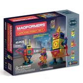 【韓國 Magformers 磁性 建構片】 行動機器人 45pcs ACT06102