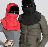 防風帽騎車帽女冬季騎車棉帽子加厚保暖電動車防風防寒帽莎瓦迪卡