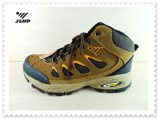 JUMP 將門 6508 舒適休閒高筒越野登山鞋 工作鞋