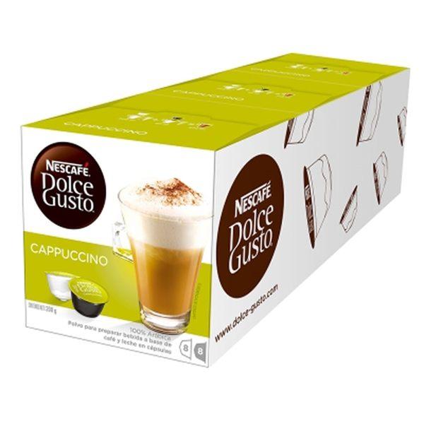 雀巢-卡布其諾咖啡膠囊(48顆/24杯)