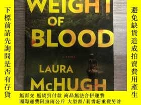 二手書博民逛書店The罕見weight of bloodY353557 Laur