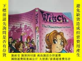 二手書博民逛書店witch罕見the disappearance 巫婆消失了..Y200392