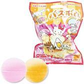 〔小禮堂〕Sanrio大集合 造型入浴球《8款隨機.紅.麵包》入浴劑.泡澡球 4901610-32374