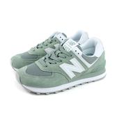 NEW BALANCE 574系列 運動鞋 跑鞋 淺灰綠 女鞋 窄楦 WL574OAD-B no706