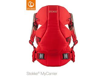 Stokke MyCarrier 嬰兒背帶-紅