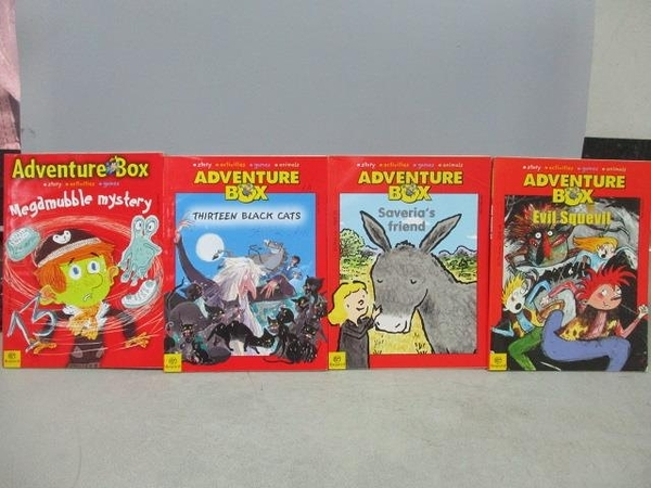 【書寶二手書T3/原文小說_MOV】Adventure Box_68+71+73+99集_共4本合售_Thirteen
