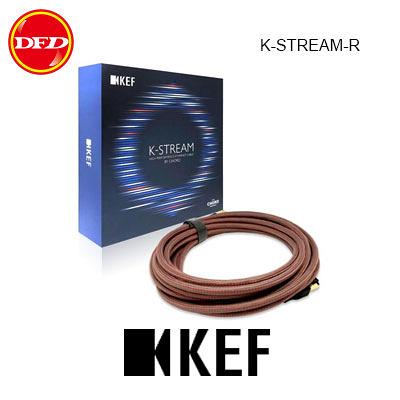 英國 KEF K-STREAM 高性能揚聲器對揚聲器纜線 鈦金屬/紅色 台灣公司貨
