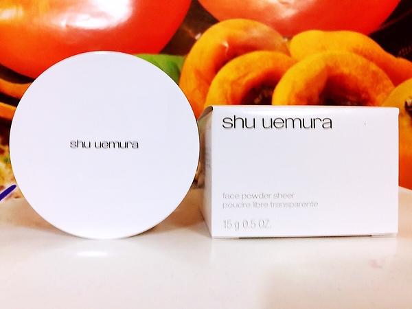 Shu Uemura 植村秀 輕薄型蜜粉透色15g 百貨公司專櫃正貨盒裝