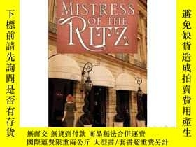 二手書博民逛書店Mistress罕見of the RitzY346464 Mel