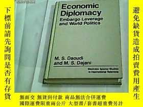 二手書博民逛書店Economic罕見Diplomacy, :Embargo Le
