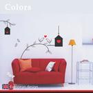 裝飾壁貼【WD-070 愛神之鳥】創意壁貼 空間設計 無毒無痕 造型壁貼 英國設計 現貨供應
