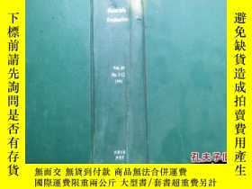 二手書博民逛書店Materials罕見Evaluation Vol.49 No.