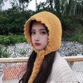 冬帽女日系毛線帽女秋冬天雷鋒帽子保暖韓版甜美可愛冬季護耳包頭針織帽 新北購物城
