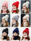 帽子女秋冬天毛線帽